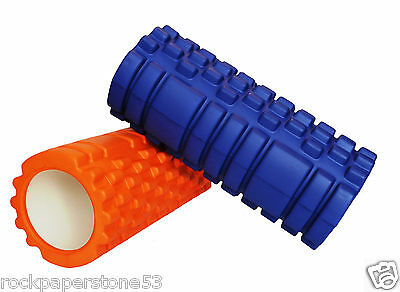 FitBodz Trigger Point Foam Roller Grid Sports Massage Exercise Gym Yoga Physio