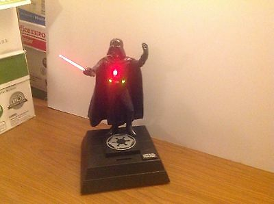 Dark Vader 1996 Lucas Film Ltd. Coin And Button Activate Voice And Movement