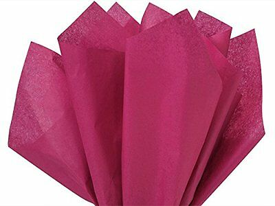 "Cranberry Tissue Paper 15"" X 20"" - 100 Sheet Pack"