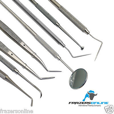 Dental Kit Set 8 Pcs Professional High-Quality 420 French Stainless Steel