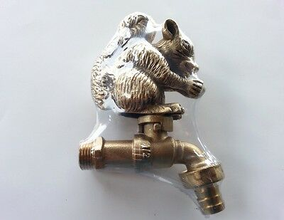 Vintage Brass Squirrel Garden Tap Architectural & Garden Other Architectural Antiques