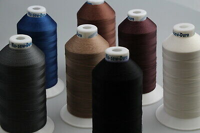 Bonded Polyester Sewing thread UV M40 x 3000mt Horse rug, boat,tents, canvas