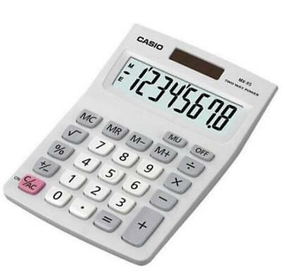 Casio Mx-8s Desk Top Calculator, Ideal for Student & Office workers