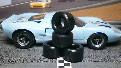 1/32 URETHANE SLOT CAR TIRES 2pr PGT-21127 fit FLY Ford GT-40