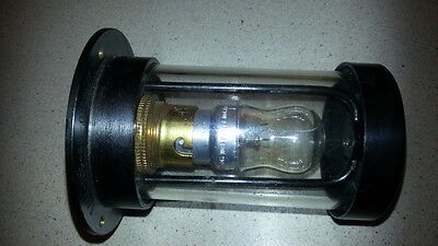 Heavy MOD Brass Cylinder Light Lamp Industrial Warehouse Steampunk with 15W Bulb