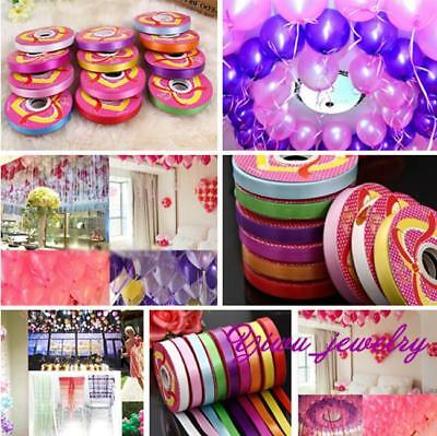1 Roll Colorful Curling Balloon Ribbon Gift Wrap Birthday Party Wedding Decor YZ