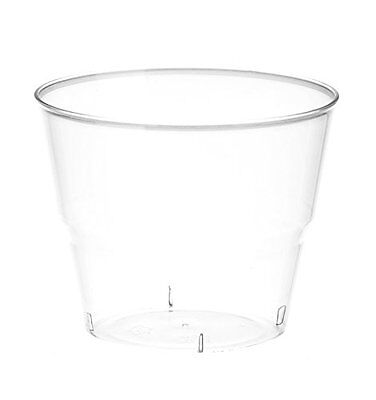 Embellish Crystal Clear Hard Plastic 5oz Dessert Cups/Tumblers 80 Count