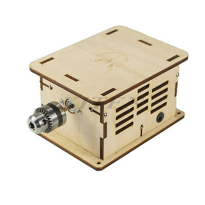 DIY Mini Multi-function Woodworking Bench Grinder Polisher Drilling Machine