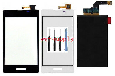 For LG Optimus L5 II E460 E450 LCD Display Front Touch Screen lens Digitizer