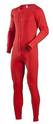 Red Thermal Union Suit, 3XL