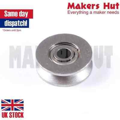 V623ZZ 12x3x4 mm V Groove Sealed Guide Pulley Rail Ball Bearing