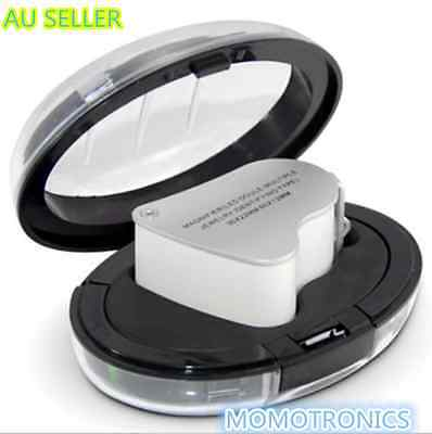 LED Double Multiple 30X 60X Jewelers Eye Loupe Lens Magnifier Magnifying Glass