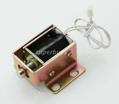 Electronic Latch Lock Catch Door Gate 6V Electric Release Assembly Solenoid OpLa