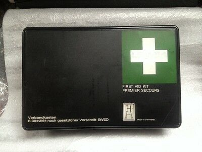 1981 Mercedes Sl Slc R107 108 109 111 123 First Aid Kit B Din 13164 Hartmann