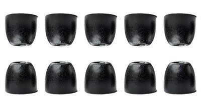 Shure Genuine EABKF1-10S Small Replacement Black Foam Sleeves Ear Tips (10/pk)