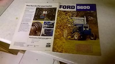 ford  5600  sale brochure  de luxe safety cab