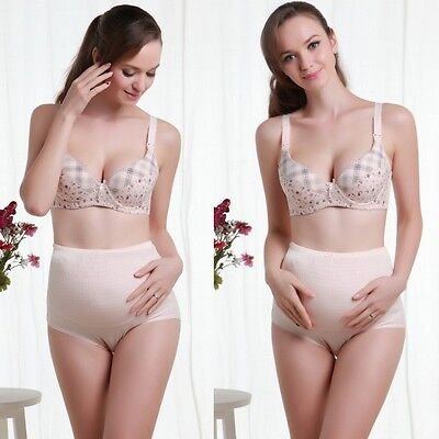 Comfortable Maternity Panties Pregnancy Adjustable High Waist Chic Comfy Briefs