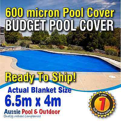 NEW 600 micron Swimming Pool Cover / Blanket with 1 Yr FULL Warranty - 6.5mx4m