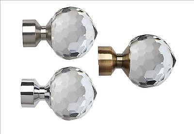 BELLA Curtain Pole Finials 2 Pack, Speedy Poles Apart 28mm mix and match range