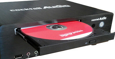 Cocktail Audio Pro X100 4TB CD Recorder, Streamer, NAS  Ripper with DSD playback