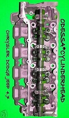 CHRYSLER DODGE JEEP CHEROKEE DAKOTA 4.7 SOHC CYLINDER HEAD DRIVER SIDE 05-07