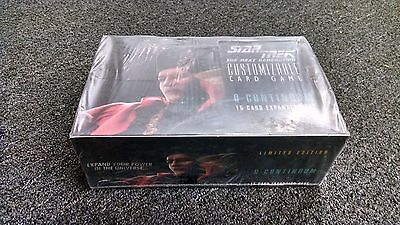 Star Trek CCG 1st Edition - Q Continuum Expansion Sealed Booster Box - 1E