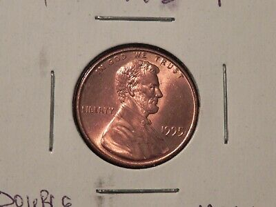 1995 P Doubled Die Lincoln Head Cent Penny BU UNC ++++++ RED BUY NOW
