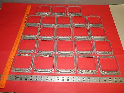 "Lot of 23 Crouse-Hinds TP498 1/2""(.5"") Raised Electrical Cover 2 Device"
