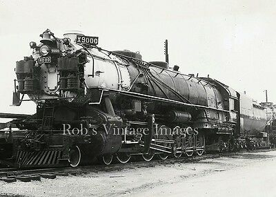 Union Pacific Up Photo Steam train Giant Locomotive 9000 4-12--2 Railroad
