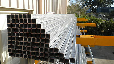 Steel Rhs Gal Box Section 25X25X2.0Mm (New) 6.5 Mtr Lengths