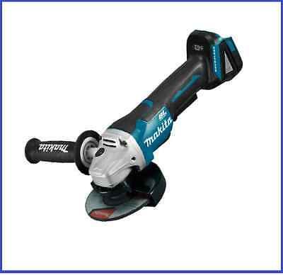 "MAKITA 18V Cordless 125mm (5"") Brushless Angle Grinder Aus 2018 Model DGA505Z"