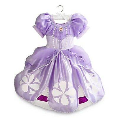 Disney Store Sofia the First Cosume Size 9//10 NWT
