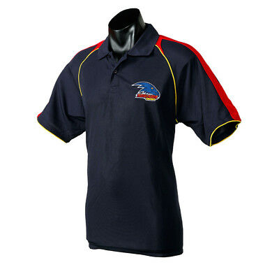 Adelaide Crows AFL Footy Essentials Polo T-Shirt