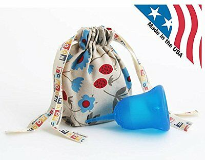 SckoonCup ECOPAC Made in USA & Organic Cotton Pouch - Sckoon Menstrual Cup Size1