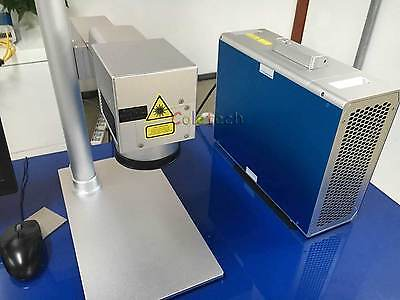 20W Fiber Laser Marking Machine Metal Engraving CE 220V Air Express 5-6 Days