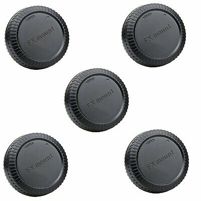 5pcs Body lens cap cover for Fujifilm Fuji FX X-T1 X-E2 X-Pro1 X-E1 X-M1 CAMERA