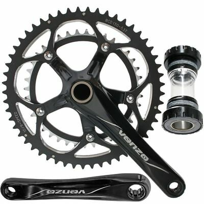 CNC Road Bike Crankset 53-39 For Shimano 9 or 10 Speed
