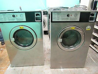 Wascomat Washer W184 220v / 3Ph  Refurbished New Motor & Cylinder Bearing Job