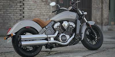 2016 Indian Scout...pre-registered '66' reg now £9899 Matt Silver only one left