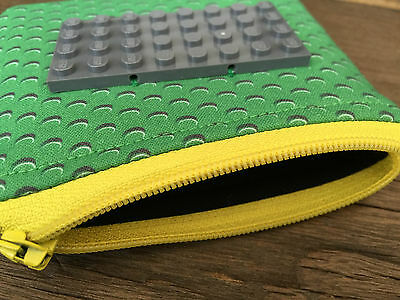 CUSTOMISE YOUR OWN Handmade fabric Coin purse Wallet Boys Girls Lego inspired