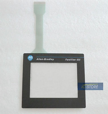 AB Allen Bradley Panelview 600 2711-T6C16L1 touch screen digitizer glass + cover