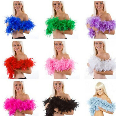 Feather Boa Fluffy Flower Craft Costume Dressup Wedding Party Home Decor