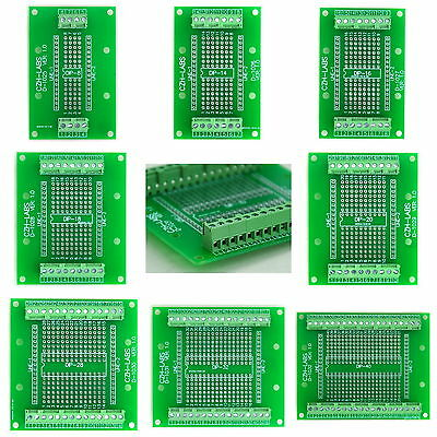 DIP Component to Screw Terminal Block Adapter Board, PCB