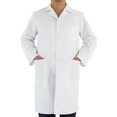 JAGO Lab Laboratory Warehouse Doctor Work Coat Medical Technician Food Hygiene