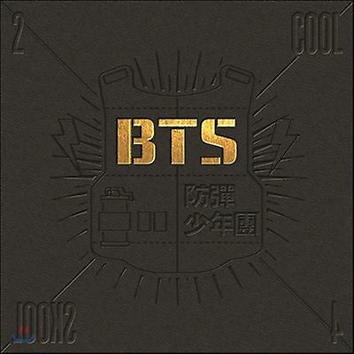 K-POP BTS 1st Single Album [2 Cool 4 Skool] CD + Photo Booklet Sealed