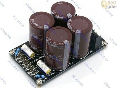 4 * 10000uF/100V Japan Ruby capacitor high-end amplifier power supply board