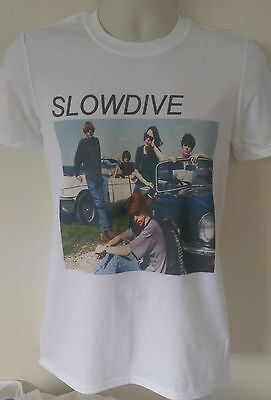 Slowdive t-shirt cocteau twins dead can dance my bloody valentine ride suede