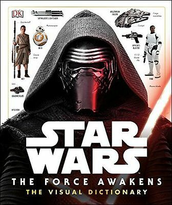 NEW - Star Wars The Force Awakens Visual Dictionary (Hardcover) ISBN0241198917