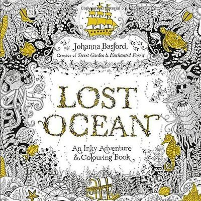 NEW - Lost Ocean An Inky Adventure & Colouring Book (Paperback) ISBN0753557150
