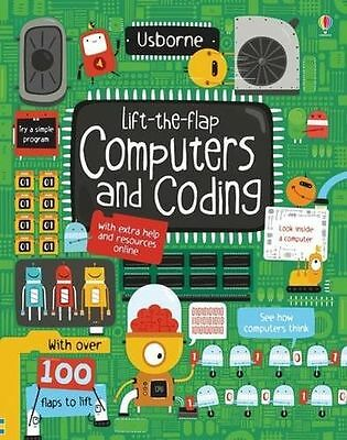 **NEW** - Lift-the-Flap Computers and Coding (Board book) ISBN1409591514